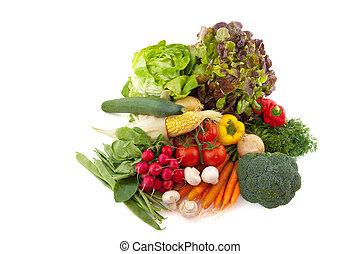 Assortment vegetables