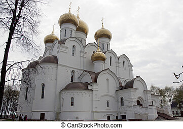 Assumption Cathedral in Yaroslavl, Russia