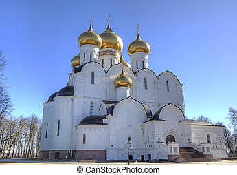 Assumption Cathedral. Yaroslavl, Ru