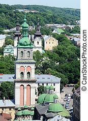 Assumption Church tower,Lvov