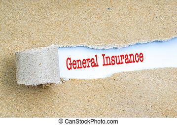 assurance, à, rouges, text.