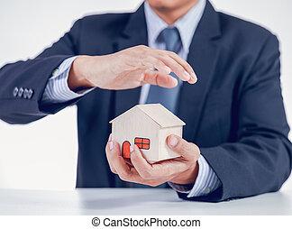 assurance maison, concept