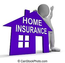 assurance maison, maison, moyens, assurer, propriété