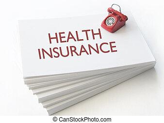 assurance maladie, carte affaires