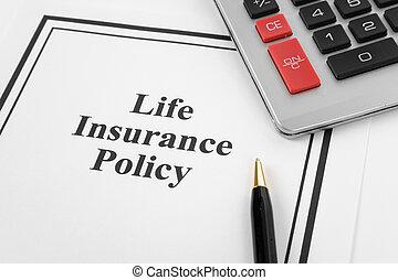 assurance-vie, politique