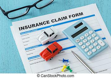 assurance voiture, réclamation, formulaire