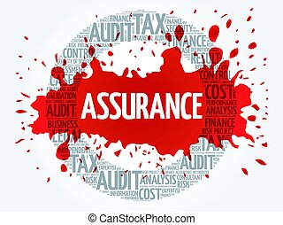 ASSURANCE word cloud, business concept