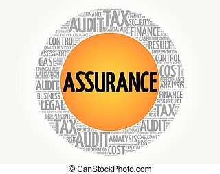 ASSURANCE word cloud collage