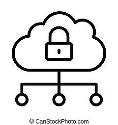 assurer, nuage, réseau