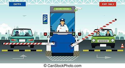 assurer, stationnement