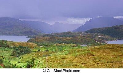 Assynt Viewpoint At Loch A Chaim Bhain, Scotland - Graded...
