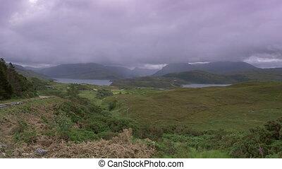 Assynt Viewpoint At Loch A Chaim Bhain, Scotland - Native...
