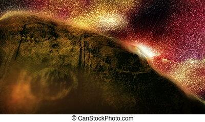 astéroïde, -, espace