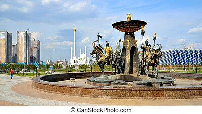 Astana the capital of Kazakhstan.