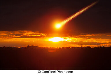Asteroid impact, judgment day, end of world