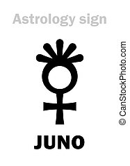 asteroide, astrology:, juno