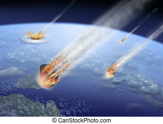 asteroids impact on Earth