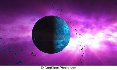 """""""asteroids, planets"""", résumé, ou, sur, lentement,..."""