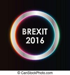 astratto, 2016, brexit, fondo