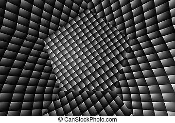 astratto, 3d, illusione, fondo, effetto