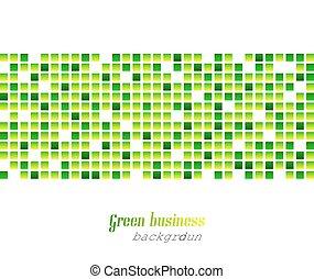 astratto, affari verdi, fondo