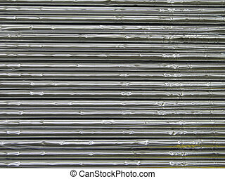 astratto, alluminio, fondo