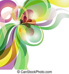 astratto, amore, tema, colorito, festivo, fondo