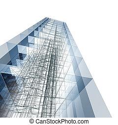 astratto, architettura