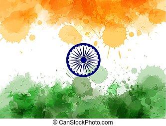 astratto, bandiera india
