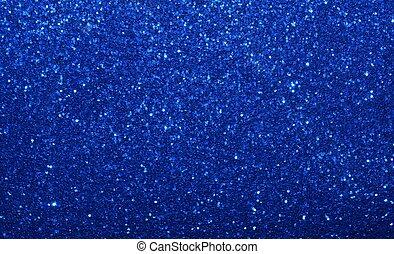astratto, blu, scintilla, fondo