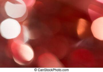 astratto, bokeh., fondo, arancia, vacanza, natale, rosso
