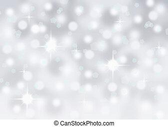 astratto, cadere, neve, fondo