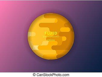 astratto, cerchio, stile, spazio, halftone, fondo, text., ...