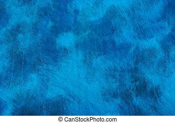 astratto, chiazzato, sfondo blu
