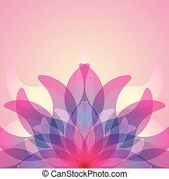 astratto, colorito, fondo, flower.