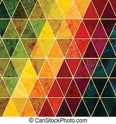 astratto, colorito, geometrico, fondo