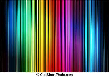 astratto, colorito, verticale, strisce, modello, fondo