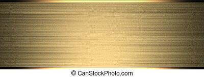 astratto, cornice, sfondo bianco, oro