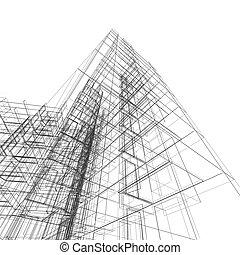 astratto, costruzione