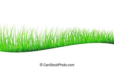 astratto, erba, verde