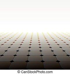 astratto, floor., pavimentato, prospettiva, fondo.