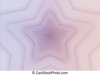 astratto, fondo, con, uno, stella