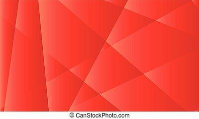 astratto, fondo, con, uno, triangolo rosso, pendenza