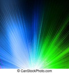 astratto, fondo, in, blu verde, tones., eps, 10
