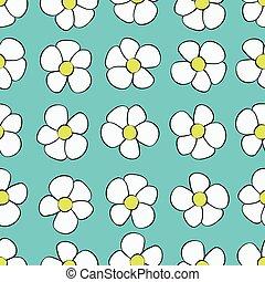 astratto, fondo, seamless, fiore, pattern.