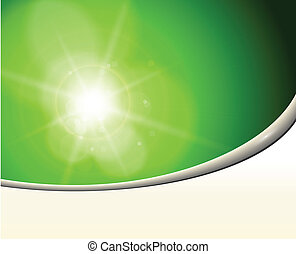 astratto, fondo, verde