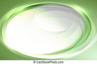 astratto, fondo, vettore, verde