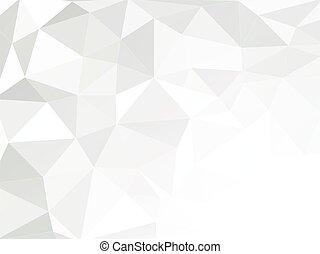 astratto, geometrico, fondo, carta spiegazzata