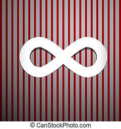 astratto, infinità, simbolo