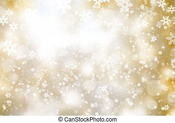 astratto, inverno, fondo, offuscamento